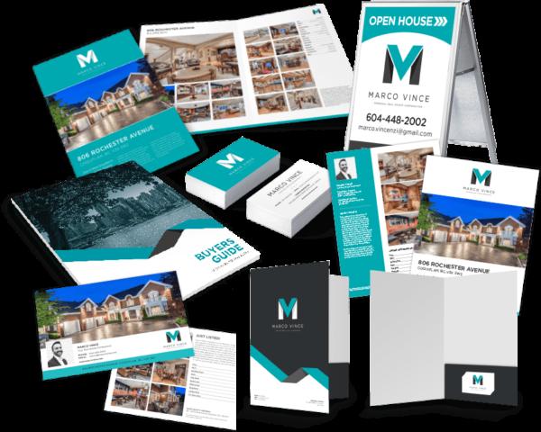 marketing material kit